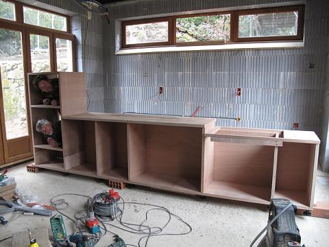 Keukeneiland zelf bouwen