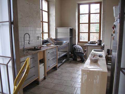 Oude keuken weghalen